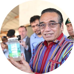 The President of Timor-Leste, Dr. Francisco Guterres